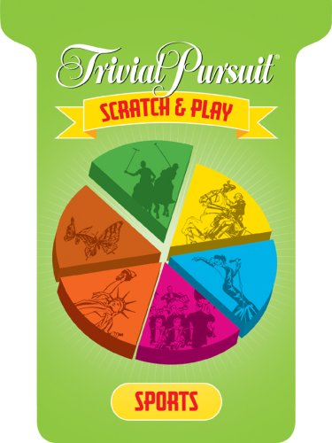 Trivial Pursuit Scratch & Play Sports 9781402765049