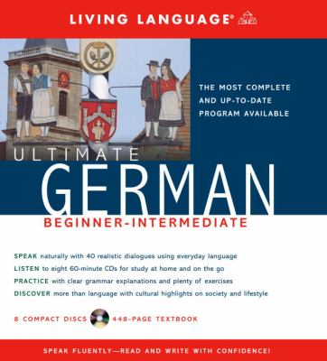Ultimate German Beginner-Intermediate (CD/Book) 9781400021079