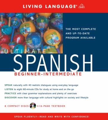 Ultimate Spanish Beginner-Intermediate (CD/Book) [With Book] 9781400021192