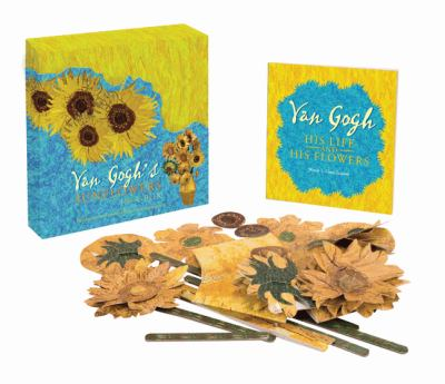 Van Gogh's Sunflowers In-A-Box: Build Your Own Multi-Dimensional Masterpiece! [With Book(s) and 29 Pre-Cut Paper Pieces] 9781402758126