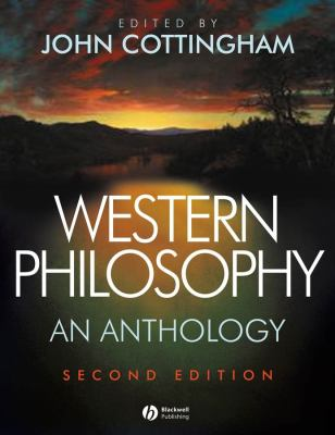 Western Philosophy: An Anthology 9781405124775