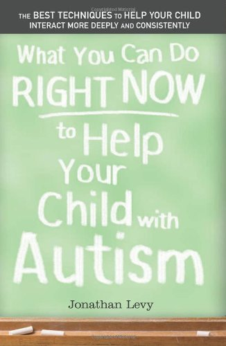 What You Can Do Right Now to Help Your Child with Autism 9781402209185