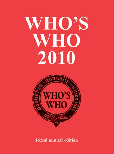 Who's Who: An Annual Biographical Dictionary 9781408114148