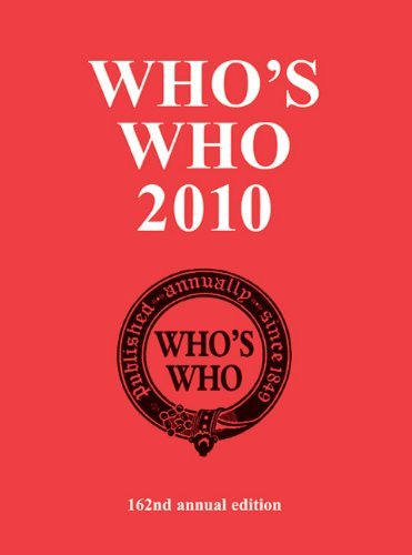 Who's Who: An Annual Biographical Dictionary