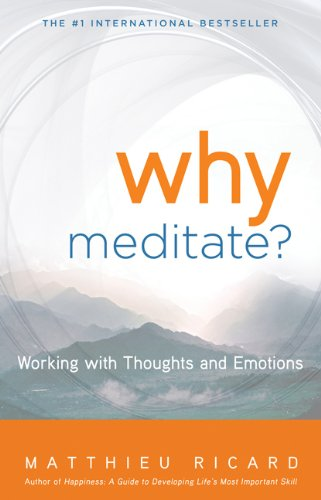 Why Meditate? [With CD (Audio)] 9781401926632