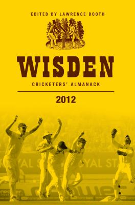 Wisden Cricketers' Almanack 9781408156933