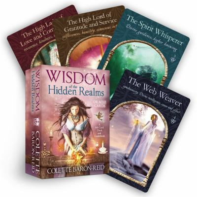 Wisdom of the Hidden Realms Oracle Cards [With Booklet] 9781401923426
