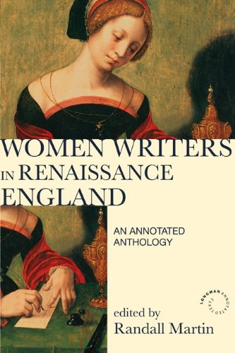 Women Writers in Renaissance England : An Annotated Anthology - 2nd Edition