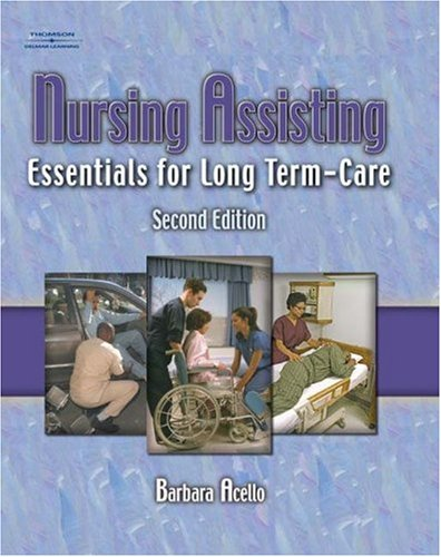 Workbook for Acello's Nursing Assisting: Essentials for Long Term Care, 2nd 9781401864941
