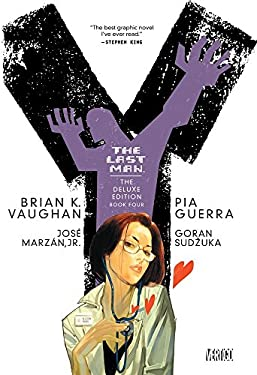 Y the Last Man Deluxe Edition Book Four 9781401228880