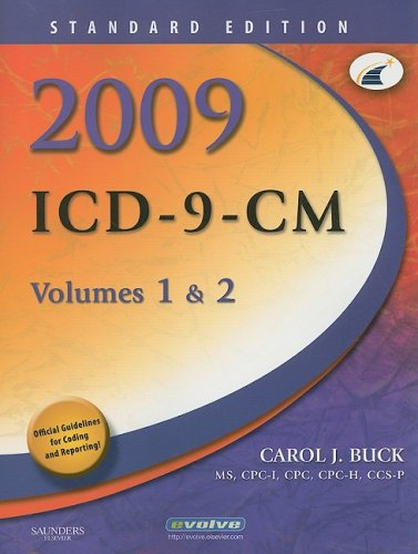 2009 ICD-9-CM, Volumes 1 & 2: Standard Edition 9781416044499