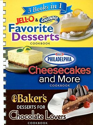 3 Books in 1 Jell-O & CoolWhip Favorite Desserts/Philadelphia Cheesecakes and More/Baker's Desserts for Chocolate Lovers 9781412776110