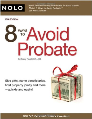 8 Ways to Avoid Probate 9781413308570