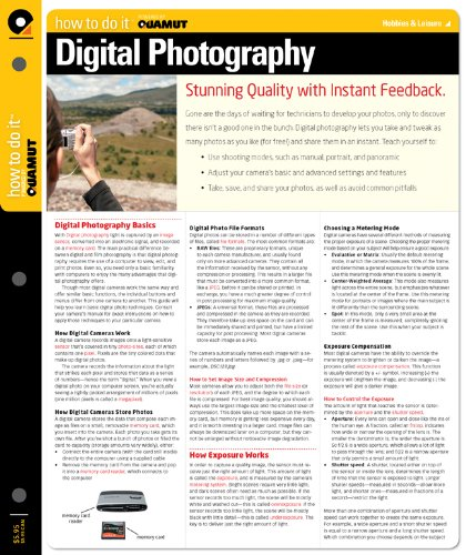 Digital Photography (Quamut) 9781411496958