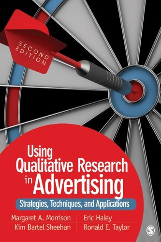 Using Qualitative Research in Advertising: Strategies, Techniques, and Applications 9781412987240
