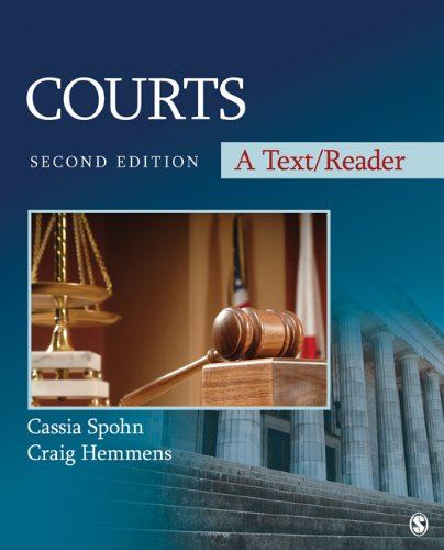 Courts: A Text/Reader 9781412997188