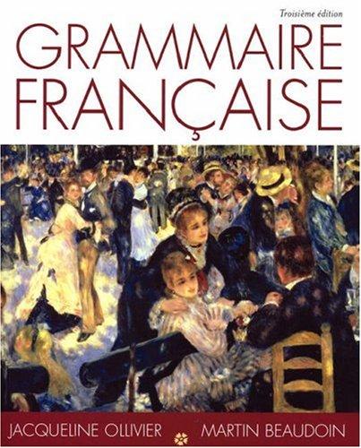 Grammaire Francaise 9781413006070