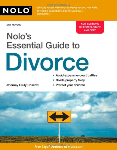 Nolo's Essential Guide to Divorce 9781413312553