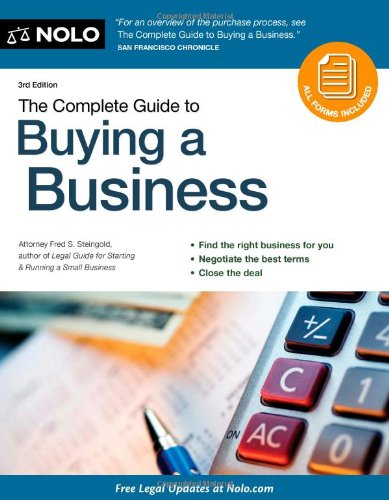 The Complete Guide to Buying a Business [With CDROM] 9781413312676