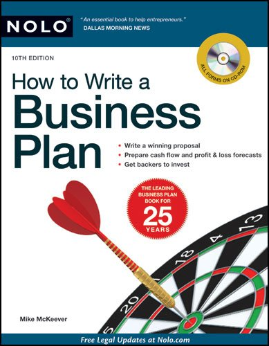 How to Write a Business Plan [With CDROM] 9781413312805