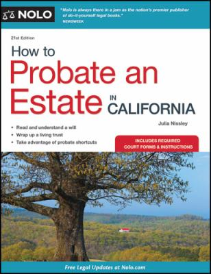 How to Probate an Estate in California 9781413313154