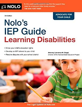 Nolo's IEP Guide: Learning Disabilities 9781413313239