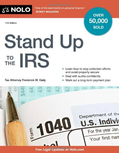 Stand Up to the IRS 9781413313284