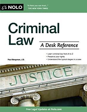 Criminal Law: A Desk Reference