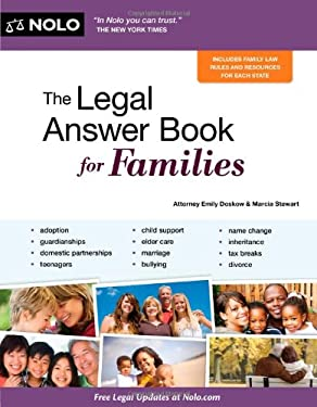 The Legal Answer Book for Families 9781413313734
