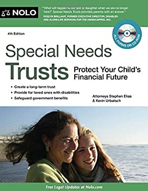 Special Needs Trusts: Protect Your Child's Financial Future [With CDROM] 9781413313840