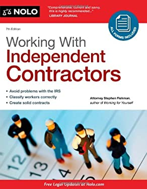 Working with Independent Contractors [With CDROM] 9781413313987