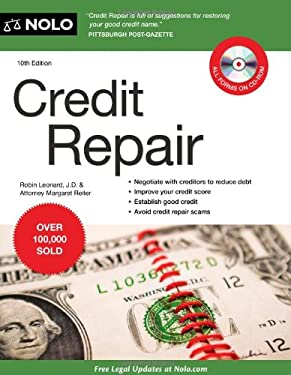 Credit Repair [With CDROM] 9781413314205
