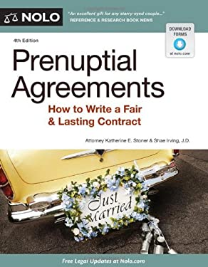 Prenuptial Agreements: How to Write a Fair & Lasting Contract 9781413316308