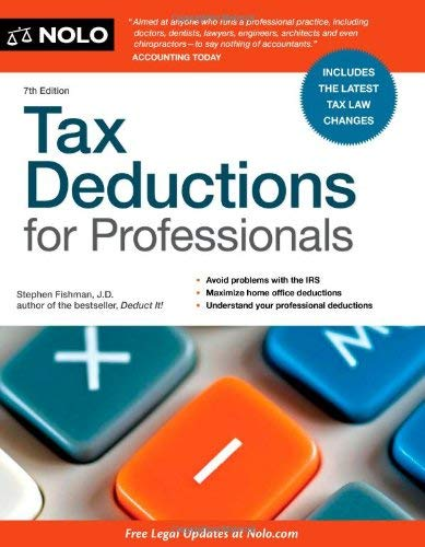 Tax Deductions for Professionals 9781413316421