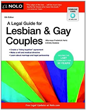 A Legal Guide for Lesbian & Gay Couples 9781413316810