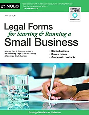 Legal Forms for Starting & Running a Small Business 9781413316834