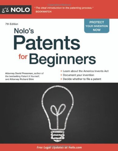 Nolo's Patents for Beginners 9781413317183