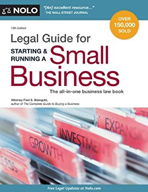 Legal Guide for Starting & Running a Small Business 9781413317398