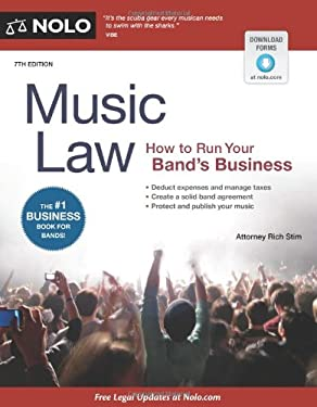 Music Law: How to Run Your Band's Business 9781413317435