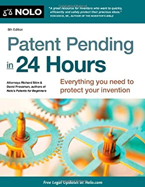 Patent Pending in 24 Hours 9781413317565