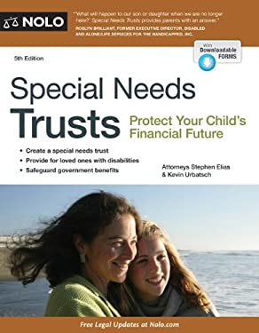Special Needs Trusts: Protect Your Child's Financial Future 9781413318159