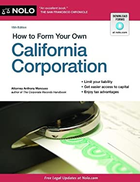 How to Form Your Own California Corporation 9781413318272