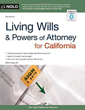 Living Wills and Powers of Attorney for California 9781413318333