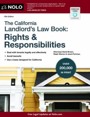 The California Landlord's Law Book: Rights & Responsibilities 9781413318531