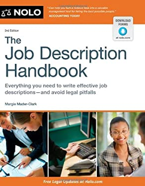 The Job Description Handbook 9781413318555