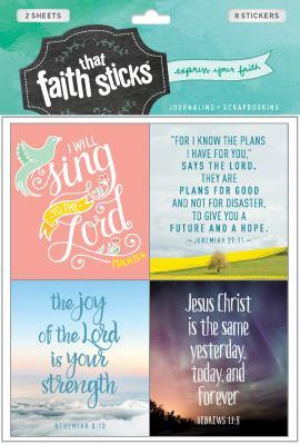 Jeremiah 29:11 (Faith That Sticks Stickers)