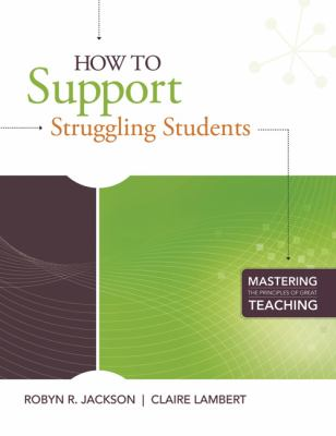How to Support Struggling Students 9781416610847