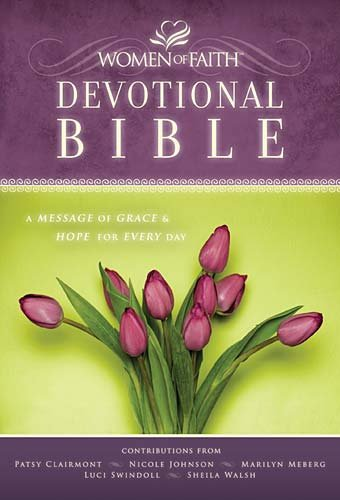 Women of Faith Devotional Bible-NKJV: A Message of Grace & Hope for Every Day 9781418544126