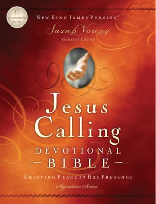Jesus Calling Devotional Bible-NKJV 9781418548629