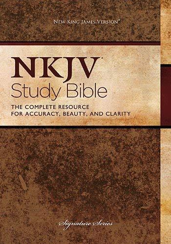Study Bible-NKJV-Signature 9781418548674